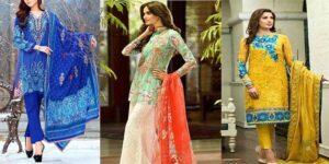 New Summer Lawn Dresses For Pakistani Girls