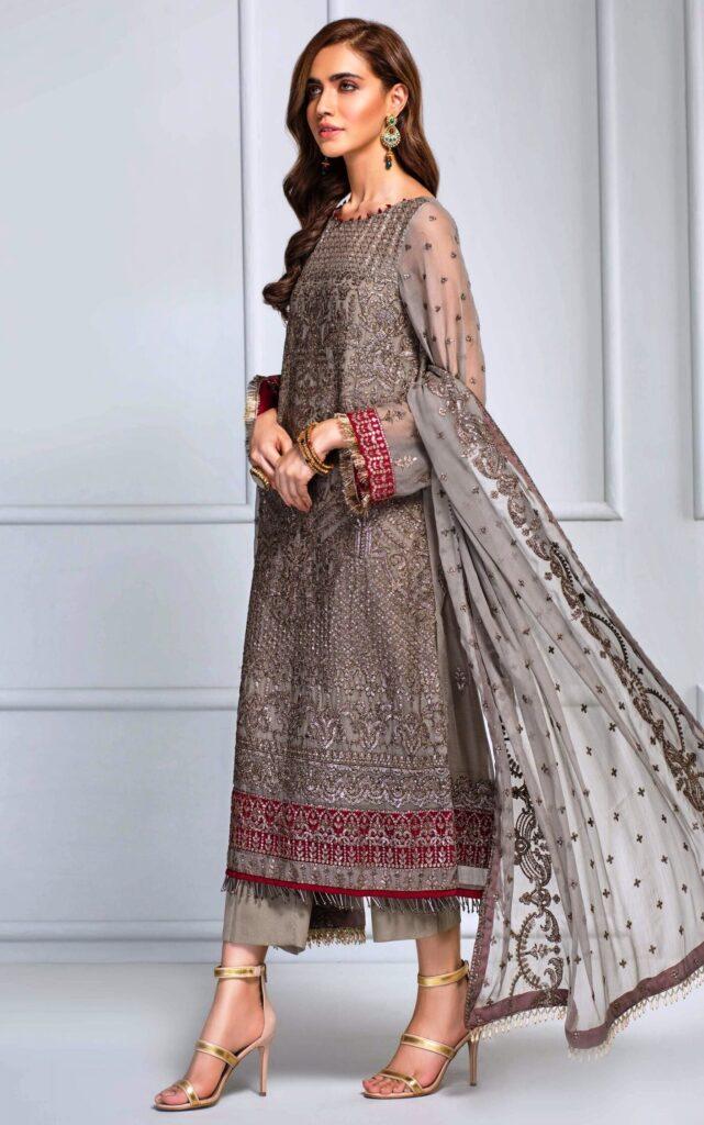 Unstitched Wedding Wear for Girls