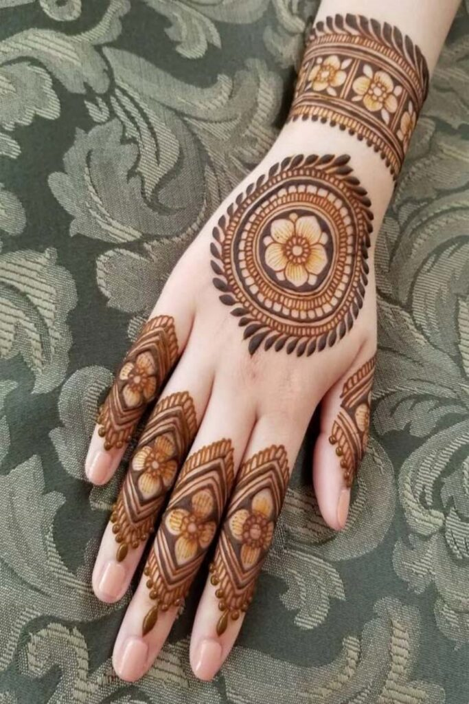 Download Easy & Simple Henna Mehandi Design Pictures (1)