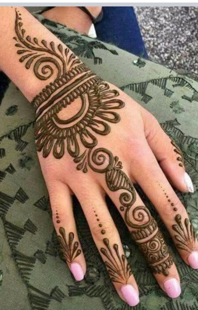 Hottest Easy Henna Mehendi Design Images (1)