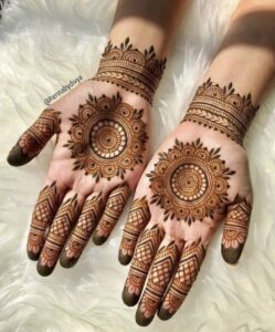 Hottest Easy Henna Mehendi Design Images (2)