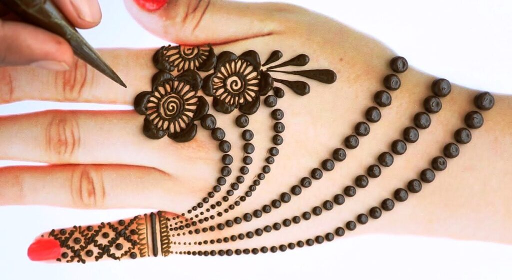 Mehndi for Front & Back Hand 2021