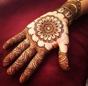 Modern Simple Mehndi Designs Step by Step (3)
